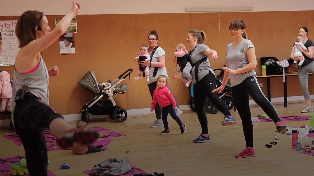 Sweaty Mamas: The gym class taking childcare worries away
