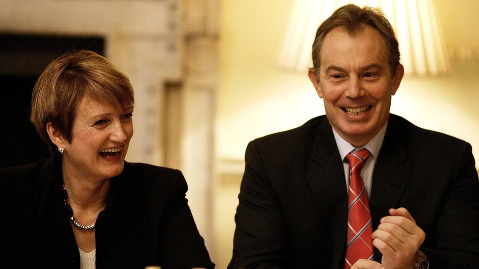 Tessa Jowell and Tony Blair