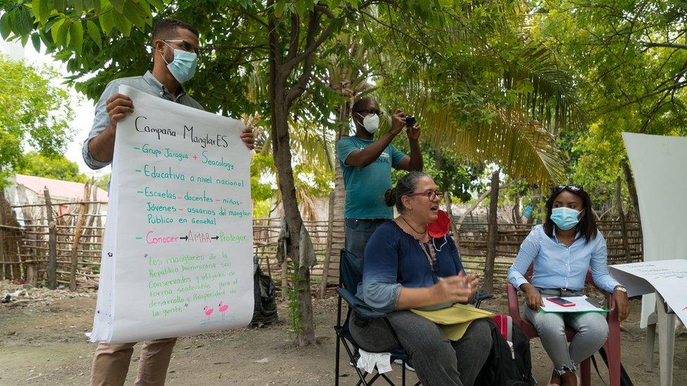 campaña en RD para proteger los manglares