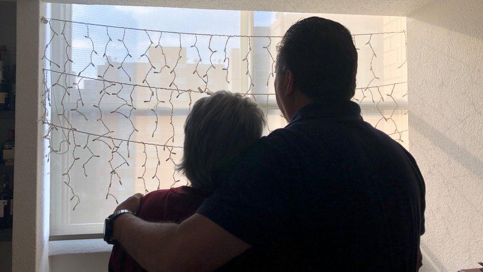 Mi familia fue destrozada por la violencia.