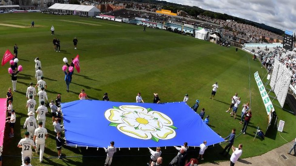 'World's largest' Yorkshire flag unveiled