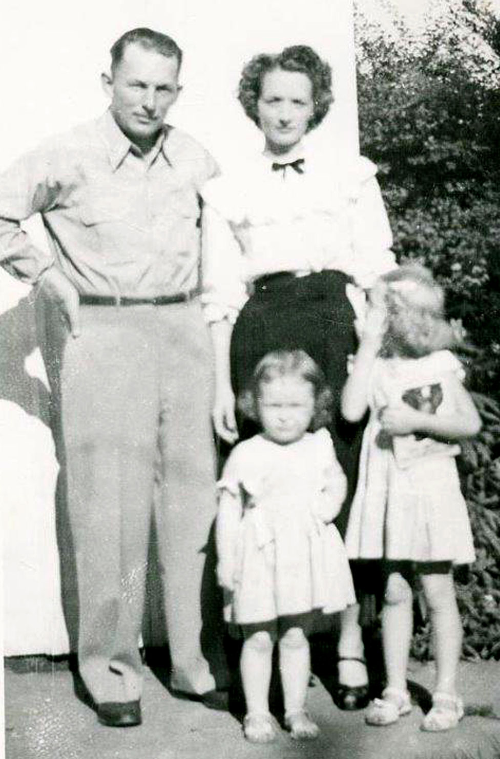 Janis Curran with her family
