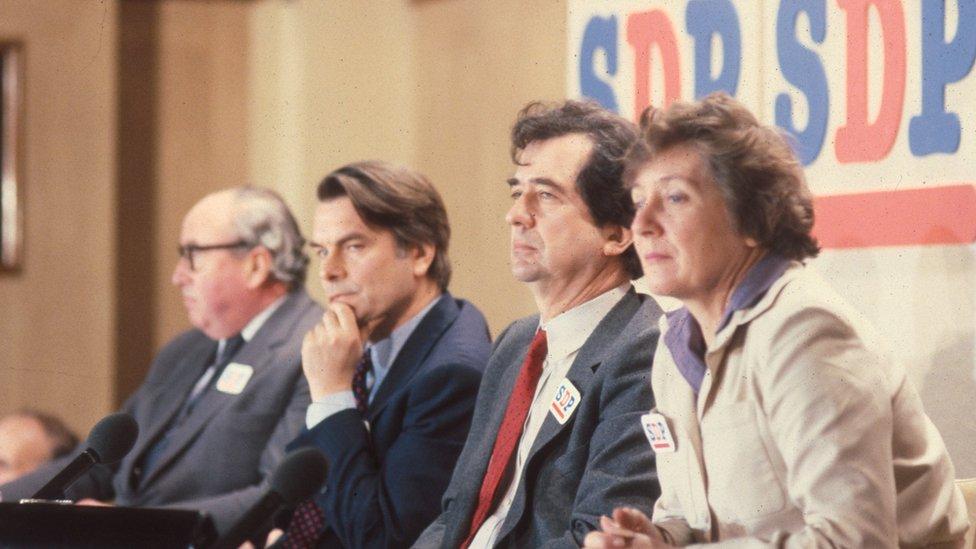 Who led Labour's last big breakaway?