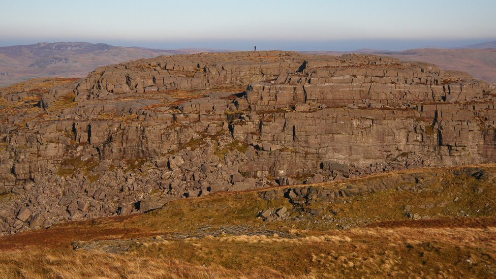 Foel Penolau: How a Welsh hill became a mountain
