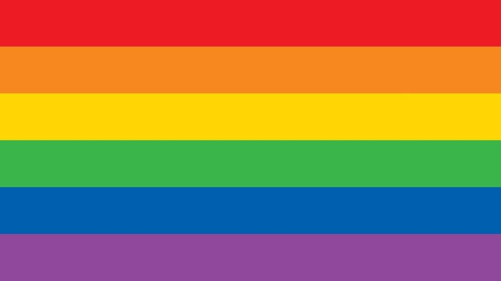 علم المثليين المكون من ستة ألوان