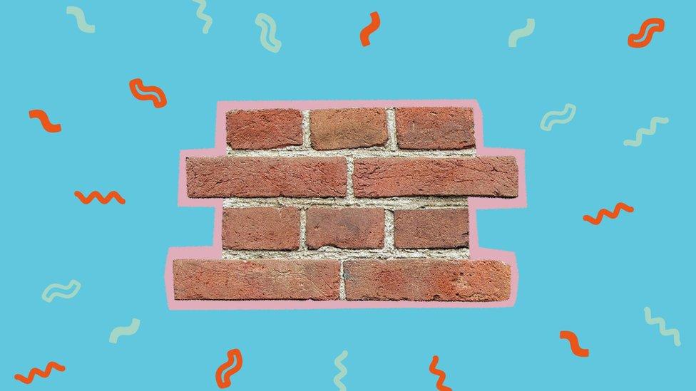 Ilustración de un muro