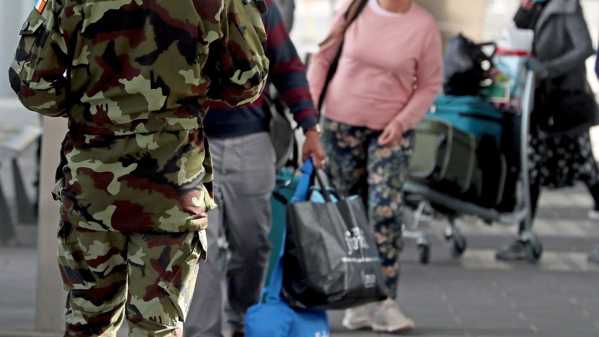 Covid 19 Dublin Women Charged For Refusing Hotel Quarantine Bbc News