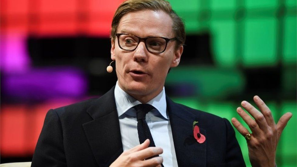 Alexander Nix, exdirector de Cambridge Analytica.