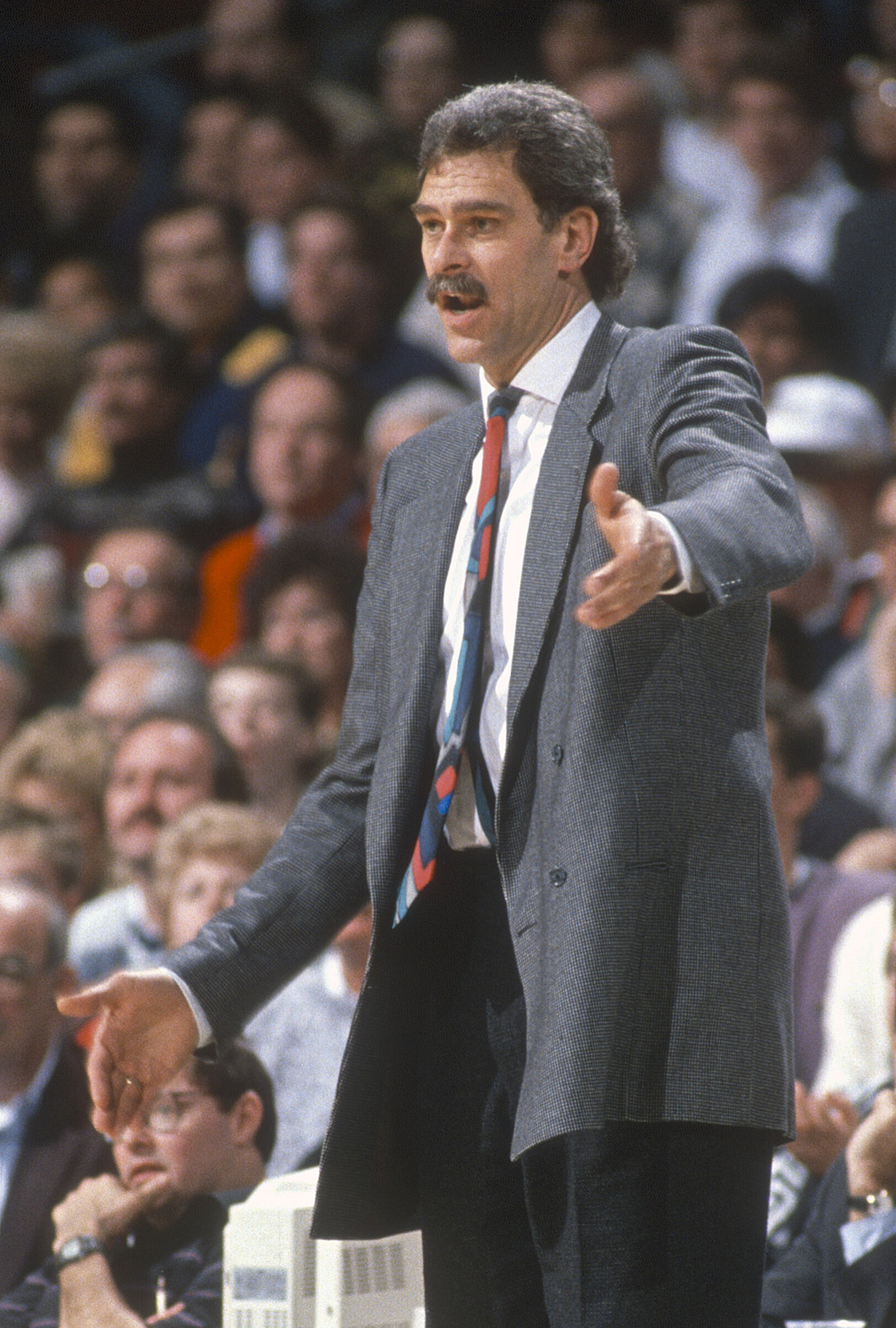 Phil Jackson in 1989
