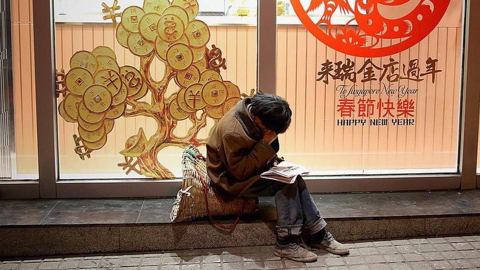 La ciudad de Guiyang está en una de las regiones menos desarrolladas de China.