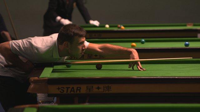 World Disability Billiards snooker tournament