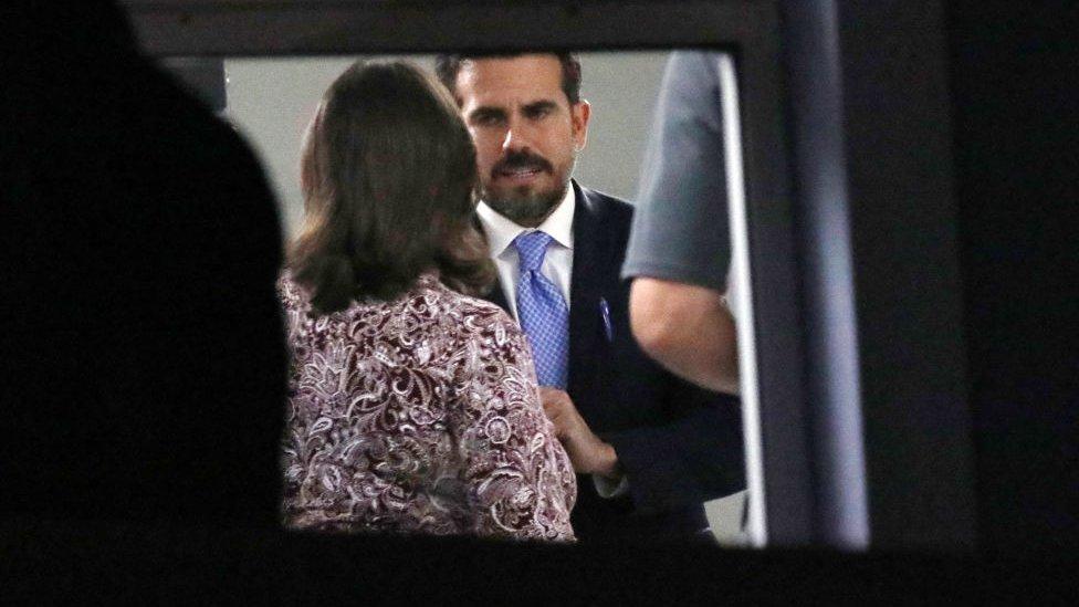 Ricardo Rosselló apologised on Sunday