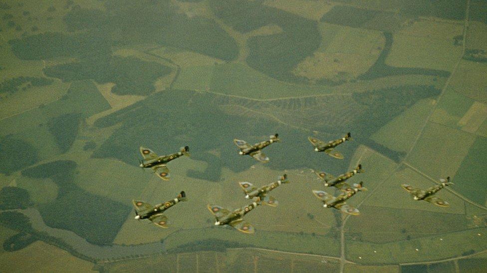 Escuadrón de aviones