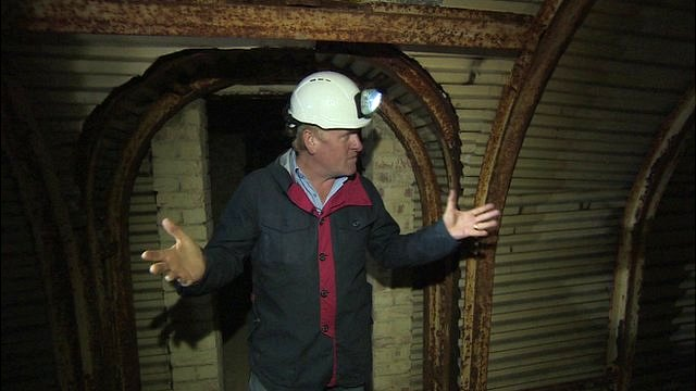 John Maguire reports from Dover's WW2 tunnels