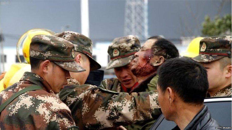 चीन में केमिकल विस्फोट से 44 की मौत
