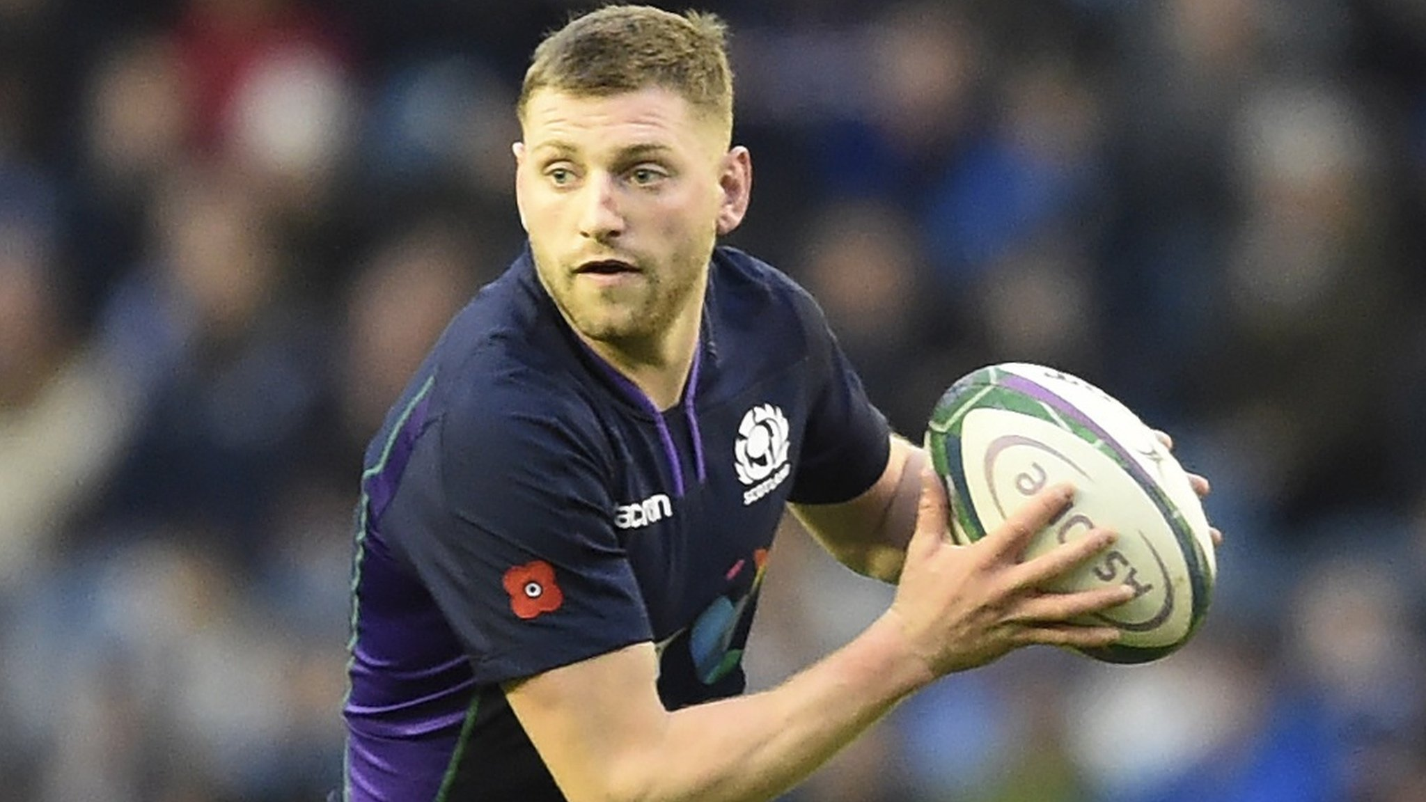 Scotland's Russell ruled of France game by concussion