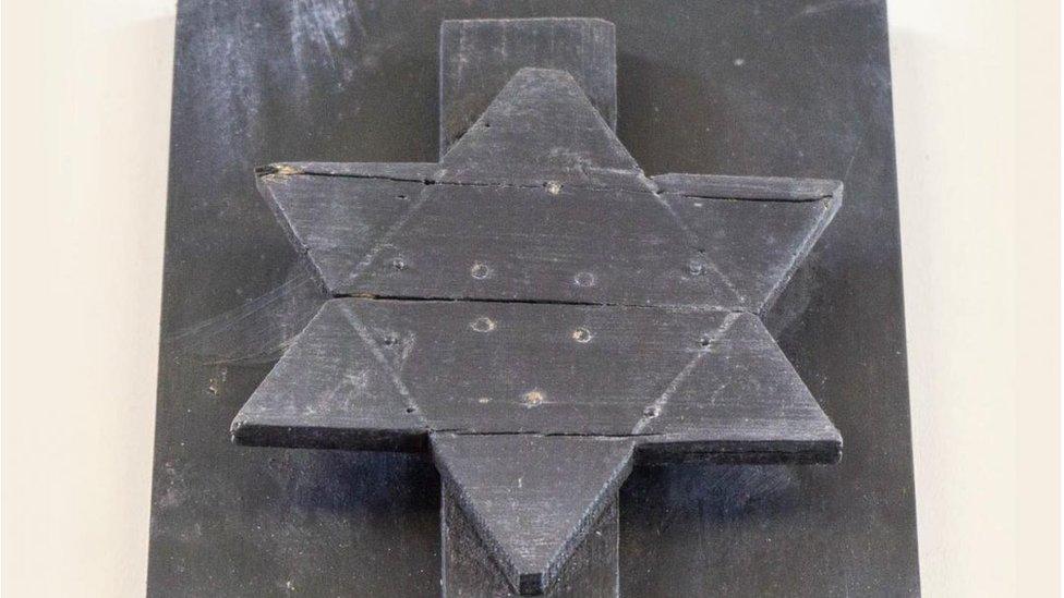 Star of David at Broadgreen Cemetery, Liverpool