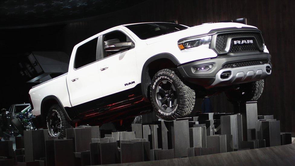 Fiat Chrysler Automobiles (FCA), introduce the 2019 Ram 1500 pickup truck