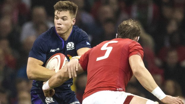 Scotland v South Africa: Huw Jones returns as Gregor Townsend makes six changes