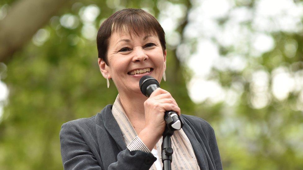 Caroline Lucas, MP for Brighton Pavillion