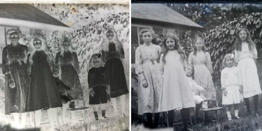Devojčice u belim haljinama