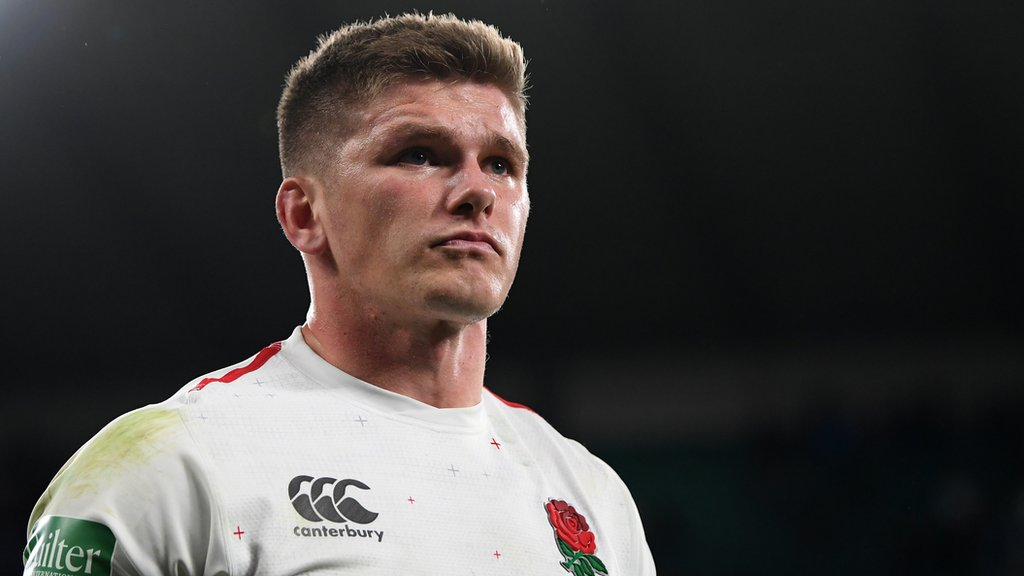 England captain Farrell in Six Nations injury scare