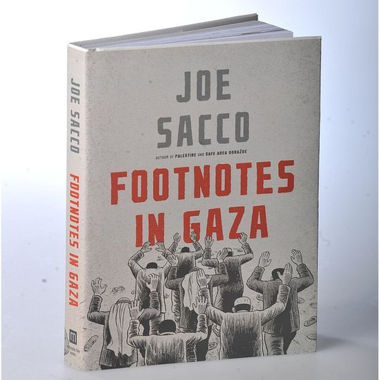 """El libro """"Notas al pie de Gaza"""""""