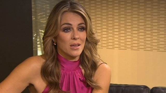 Elizabeth Hurley: 'Breast cancer will be beaten'