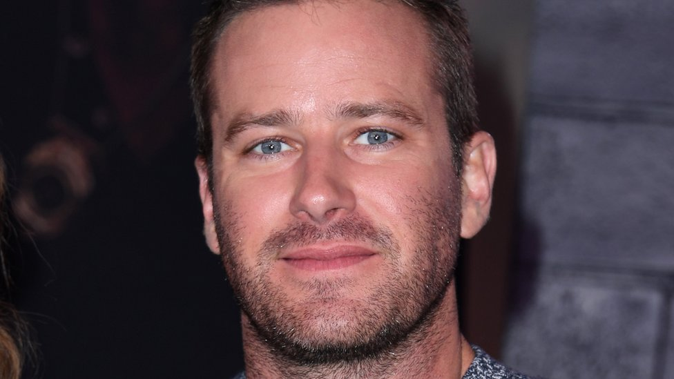 Armie Hammer: Actor pulls out of film over 'vicious' online abuse thumbnail