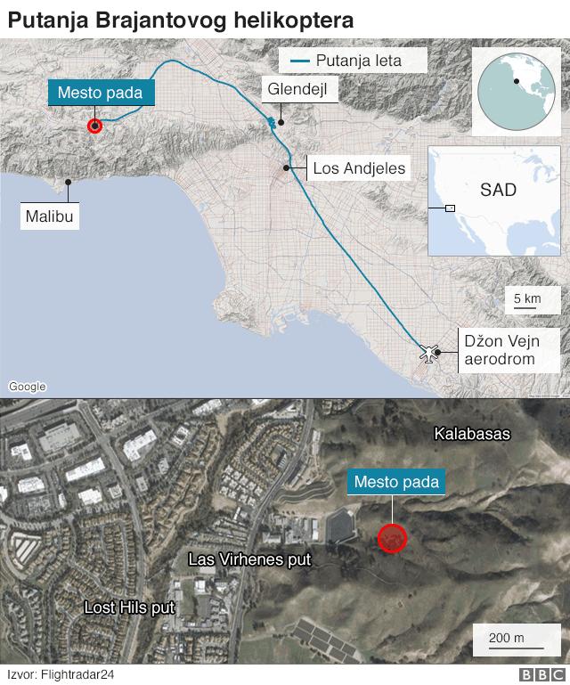 mapa mesta nesreće
