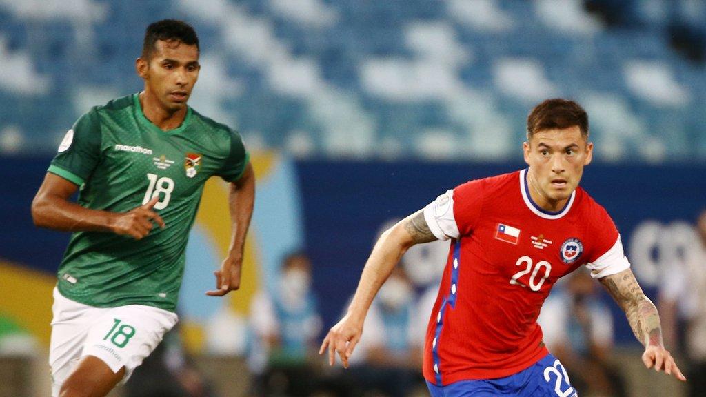 Partido entre Bolivia y Chile