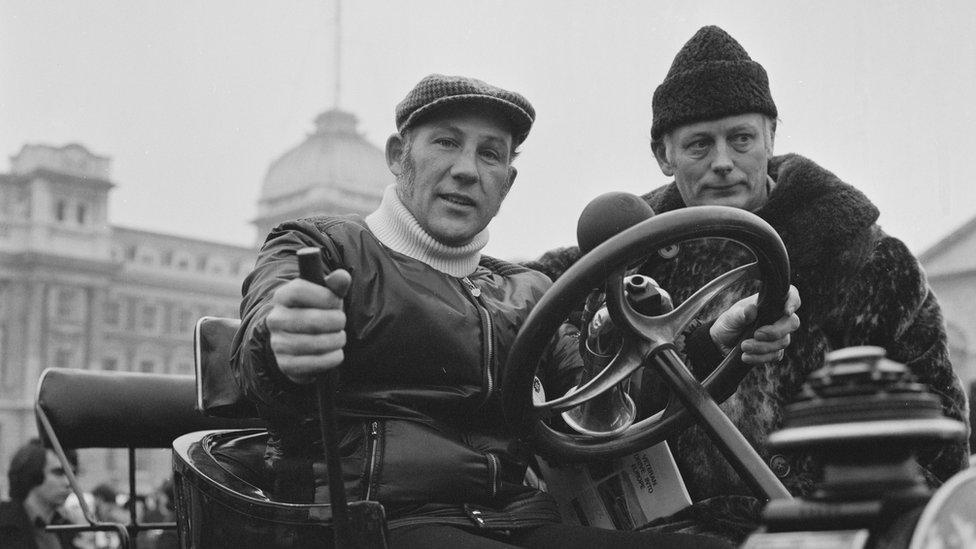 Stirling Mos iz Formule jedan na reliju oldtajmera