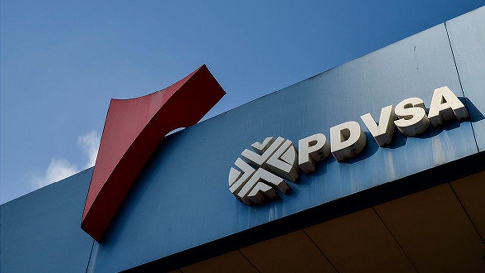 Gasolinera de PDVSA