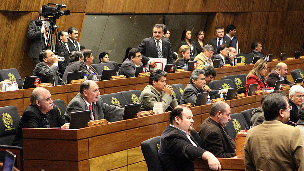 Imagen de archivo de la Cámara de Diputados de Paraguay