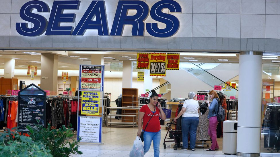 US retail giant Sears files for bankruptcy