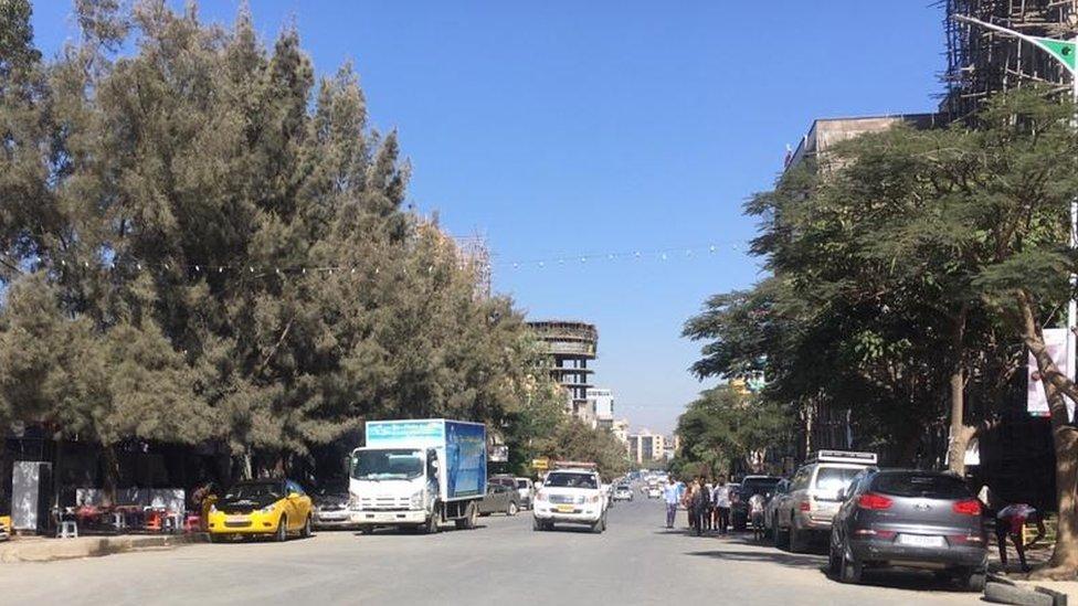 Streets in Mekelle