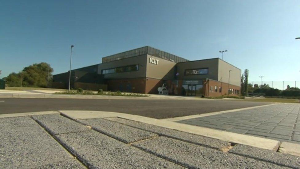 University Of Northampton 5 5m Leather Institute Opens Bbc News