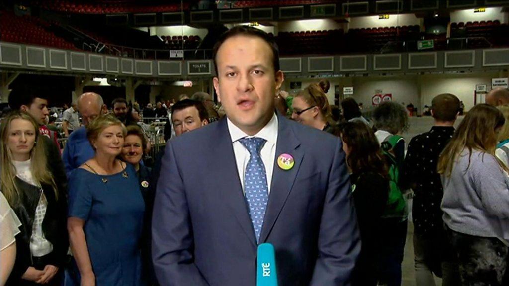 Ireland abortion referendum: Quiet revolution - Irish PM