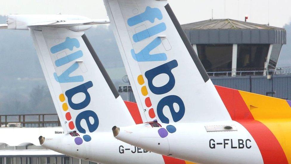 Aviones de Flybe