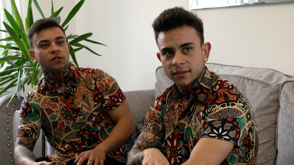 Los hermanos Neffati.