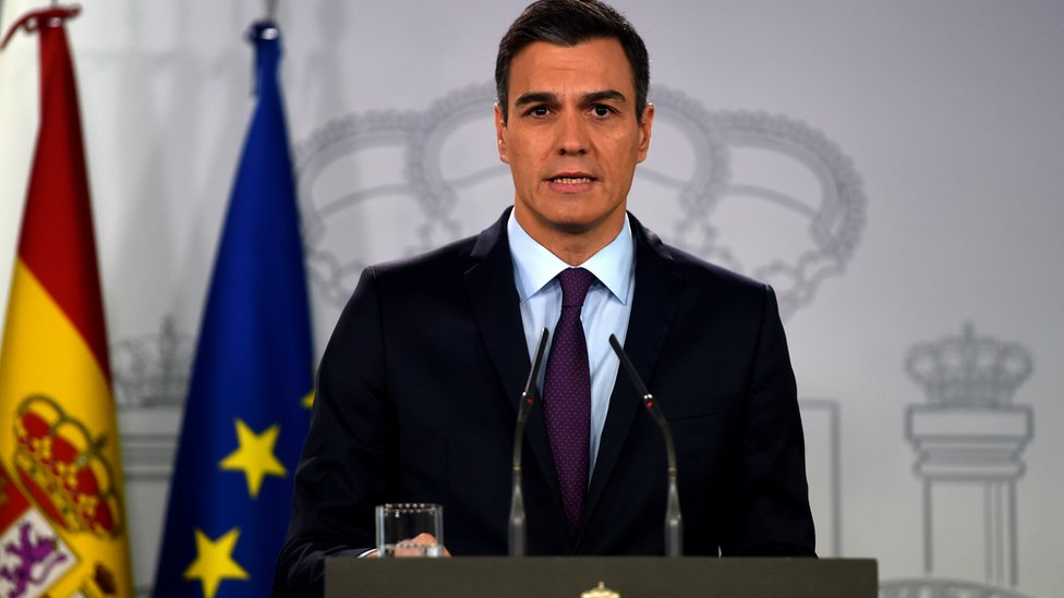 Pedro Sánchez NO USAR   BBC