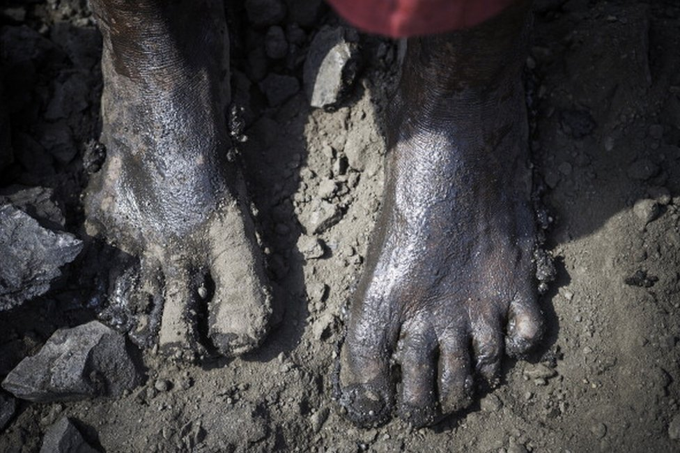 Jharkhand coal miner