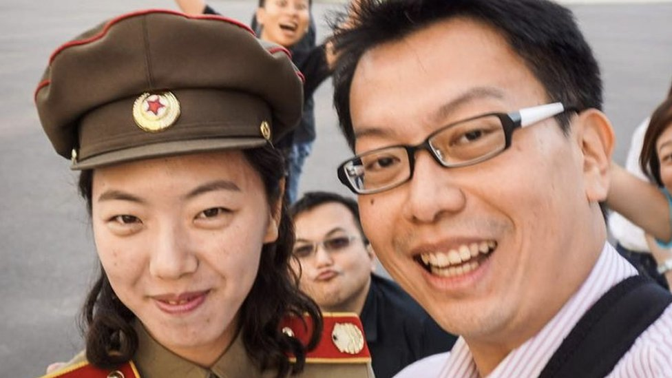 A social media star... in North Korea