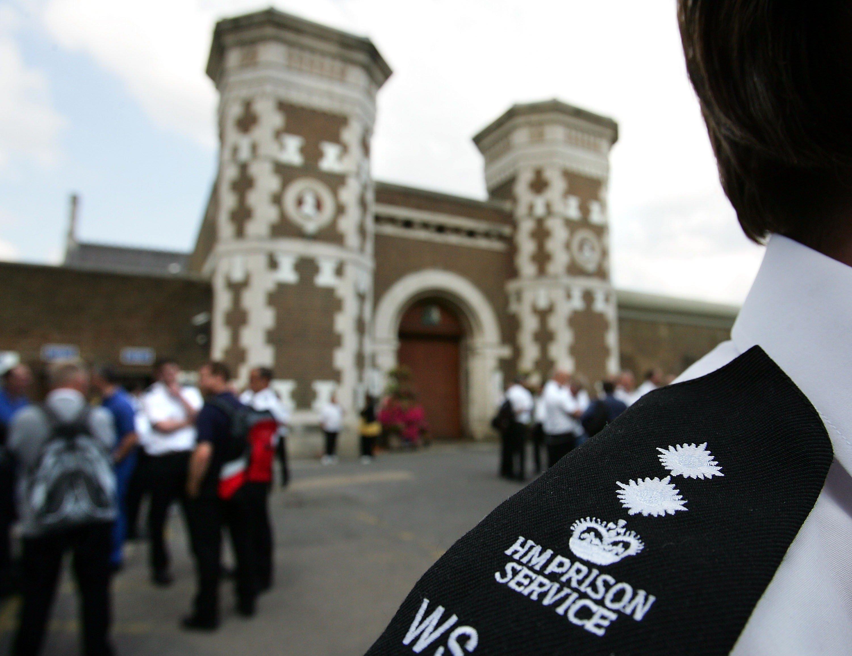 prison officer outside wormwood scrubs