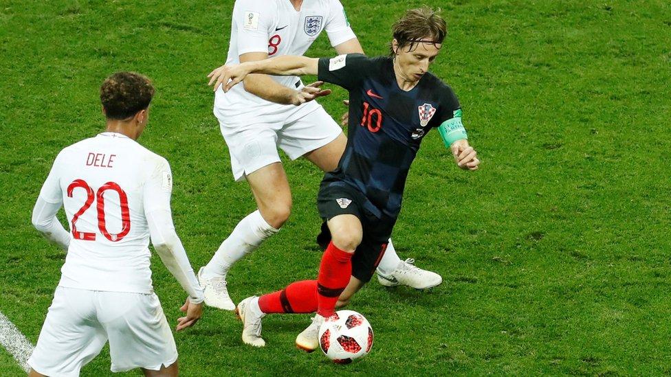 Modrić protiv Engleza