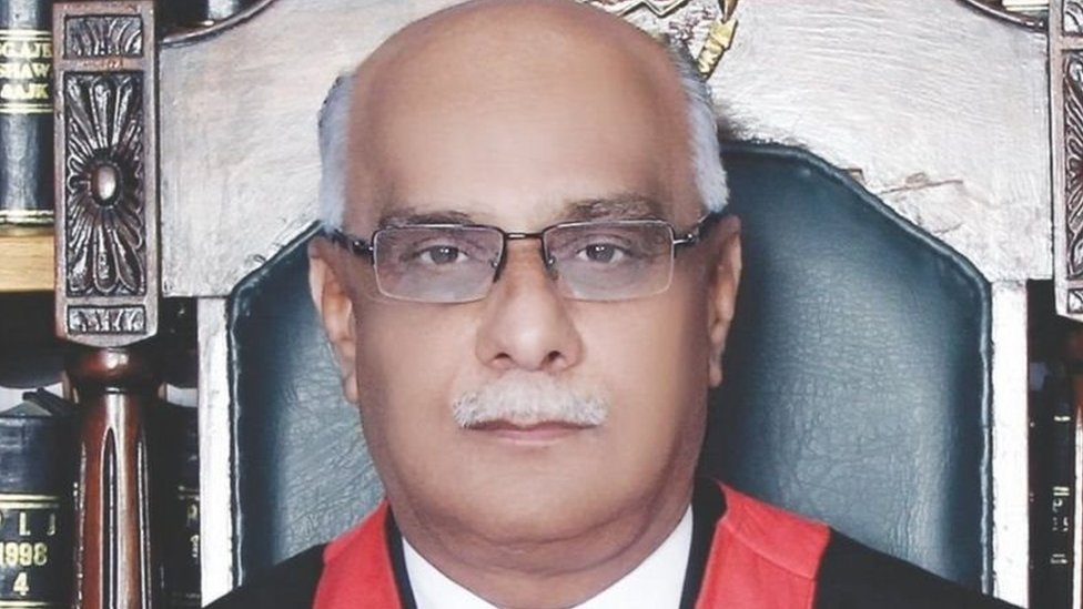 Justice Seth, official court photo