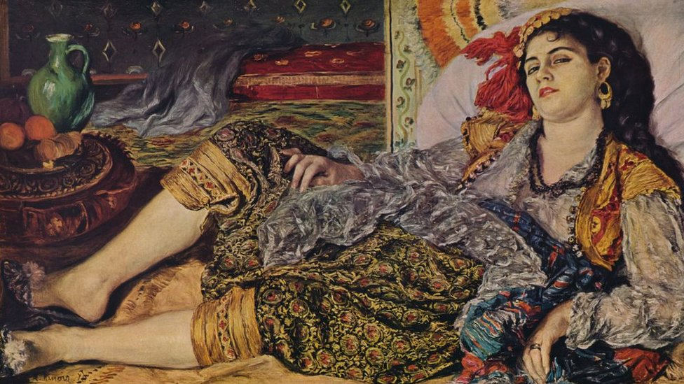 'Odalisque', 1870 by Pierre-Auguste Renoir