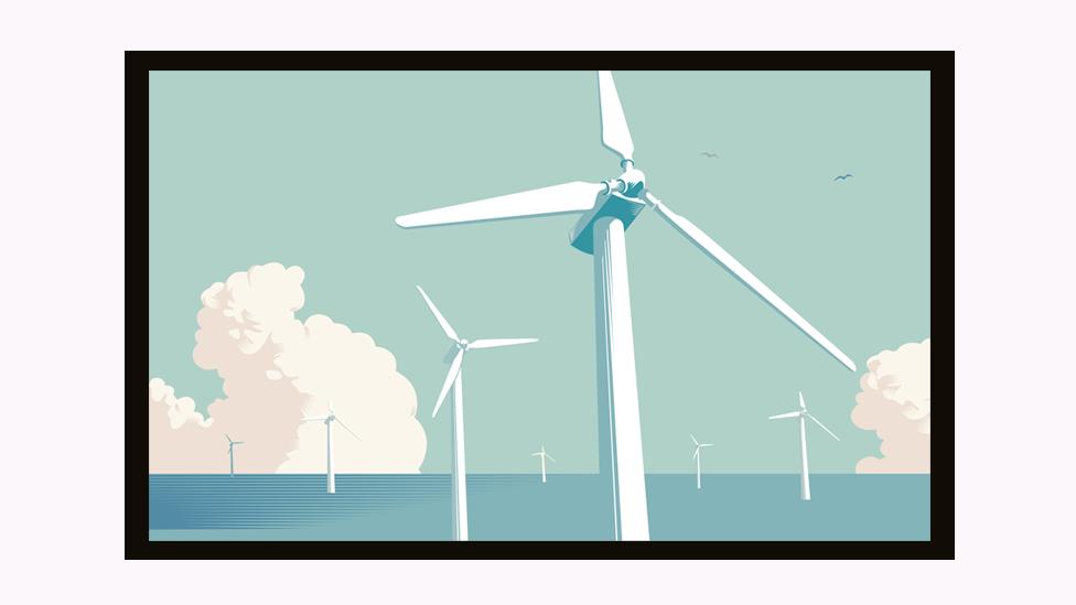 Turbine na vetar koje se doživljavaju kao alternativa fosilnim gorivima