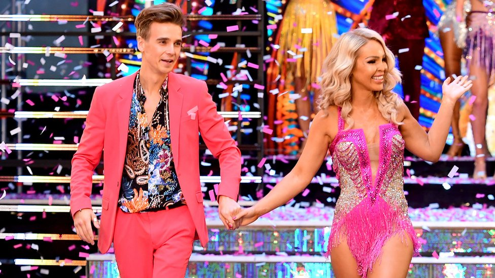 Joe Sugg and Katie Piper