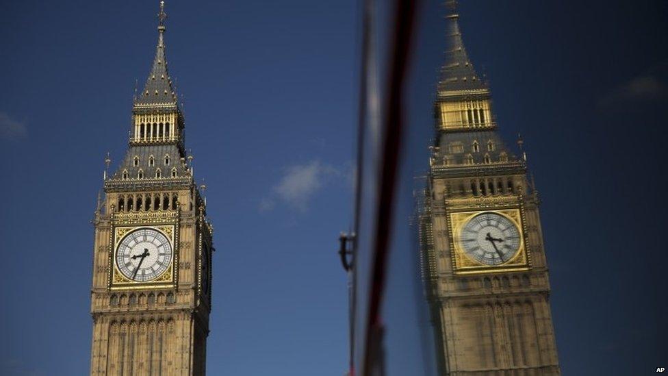 The Big Ben bell in the Elizabeth Clock Tower
